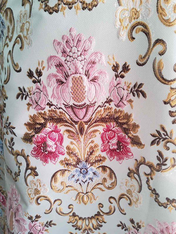 2019 12 15 14 35 20 Beautiful Italian Jacquard Brocade Fabric for Dress  /Designer Brocade Fabric/Flowers  Jacquard Fabric/Rare fashion fabric 9