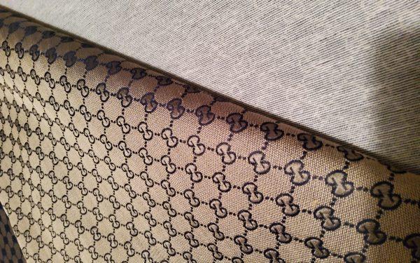 Gucci logo Italian fabric/Sneakers Airforce1 Fabric