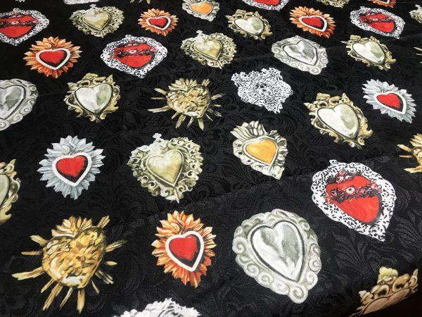 Sacred Heart Jacquard