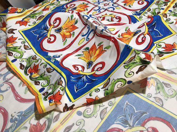 Dress Cotton Sicilian print