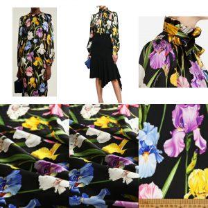 Dolce Gabbana Iris Print