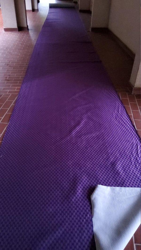 Gucci Jacquard Monogram Print in Purple and Black/ Designer Gucci Fabric/Jacket Jacquard Fabric/Jacquard Couture Fabric Colours Available 7 ⋆ Rozitta Rapetti