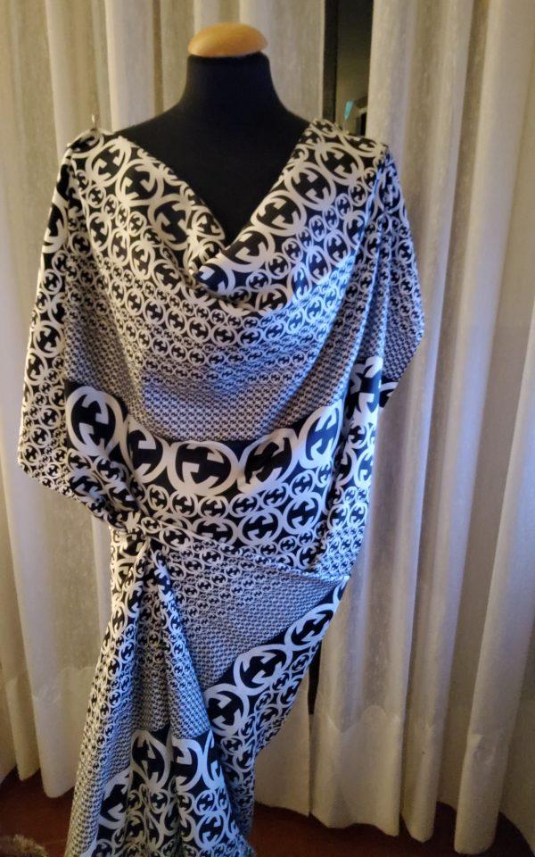 20200311 194126 e1583968619936 Gucci Fabric 100%Mulberry Silk Italian Fabric GG logo/Limited Quantity/Haute Couture Fabric/Fashion Week fabric/Haute Couture Gucci Fabric 13