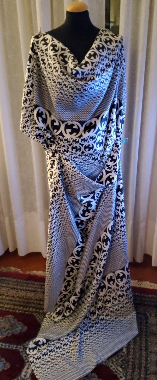 20200311 194300 Gucci Fabric 100%Mulberry Silk Italian Fabric GG logo/Limited Quantity/Haute Couture Fabric/Fashion Week fabric/Haute Couture Gucci Fabric 15