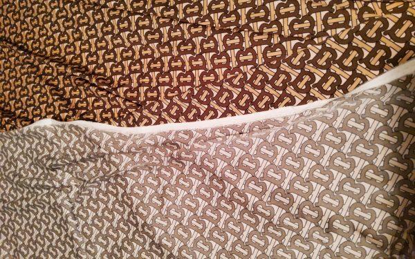 Haute Couture Italian Designer Mulberry Silk Double Crepe B