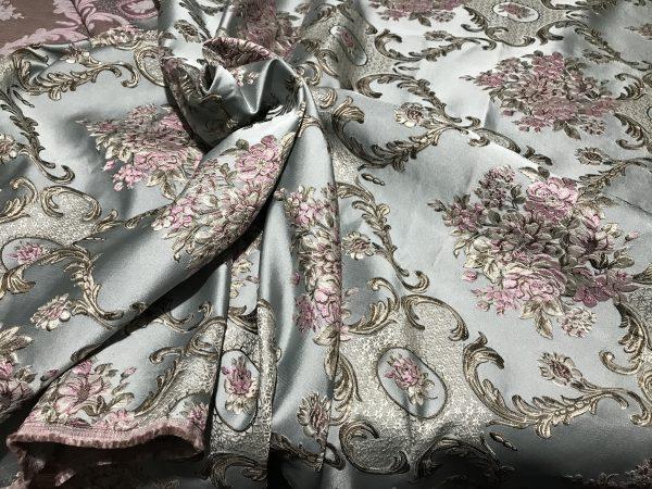 Italian Designer Damask Jacquard Fabric
