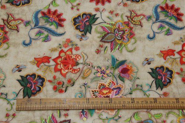 Exclusive New Collection Oscar De La Renta #2 Mulberry Silk Crepe De Chine Italian Fabric/Haute Couture Fabric 100% Silk Digital Inkjet /NEW Collection Fashion Fabric 10