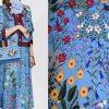 il 794xN.2042230566 h8oi New Collection Gucci Silk Fabric Spandex Satin Italian Designer Fabric Colour Blue #1/Haute Couture Fabric 100% Silk Digital Inkjet fabric 2