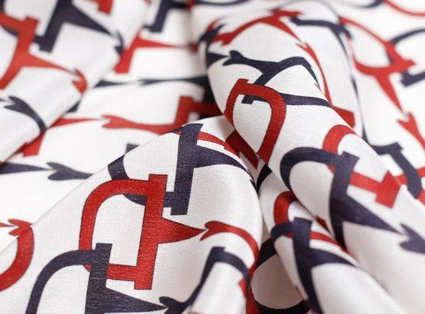 Gucci Silk Fabric colour White #1 100%Mulberry Silk Italian Fabric/Limited Quantity/Haute Couture Fabric/Fashion Week Alta Moda Fabric 6
