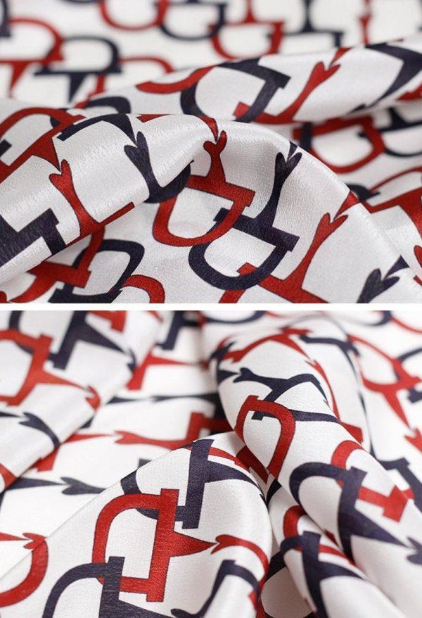 Gucci Silk Fabric colour White #1 100%Mulberry Silk Italian Fabric/Limited Quantity/Haute Couture Fabric/Fashion Week Alta Moda Fabric 7