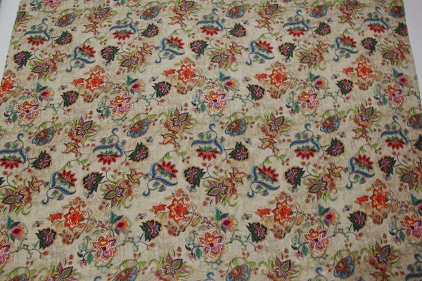 Exclusive New Collection Oscar De La Renta #2 Mulberry Silk Crepe De Chine Italian Fabric/Haute Couture Fabric 100% Silk Digital Inkjet /NEW Collection Fashion Fabric 5