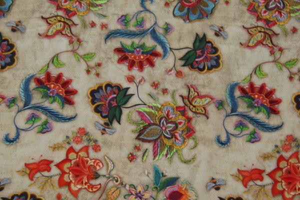 Exclusive New Collection Oscar De La Renta #2 Mulberry Silk Crepe De Chine Italian Fabric/Haute Couture Fabric 100% Silk Digital Inkjet /NEW Collection Fashion Fabric 6