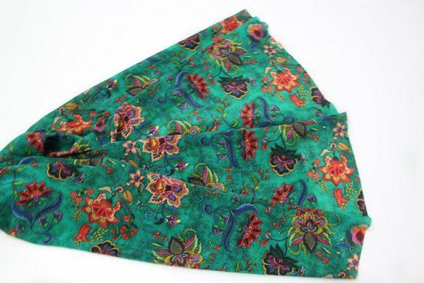 Exclusive New Collection Oscar De La Renta #1 Mulberry Silk Crepe De Chine Italian GREEN Fabric/Haute Couture Fabric 100% Silk Digital Inkjet /Fashion Fabric 11