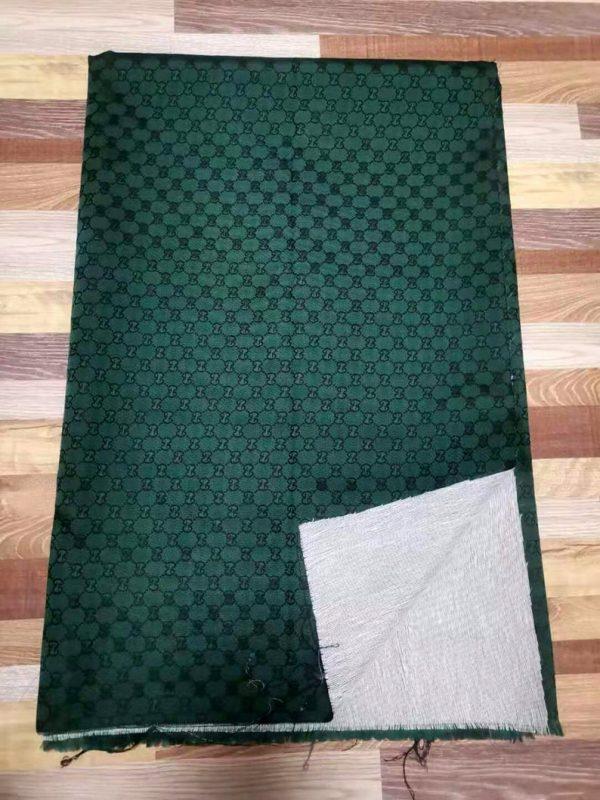 RARE Gucci Jacquard Monogram Print in GREEN Designer Gucci Fabric/Jacket Jacquard Fabric/Jacquard Couture Fabric Various Colours Available 3 ⋆ Rozitta Rapetti
