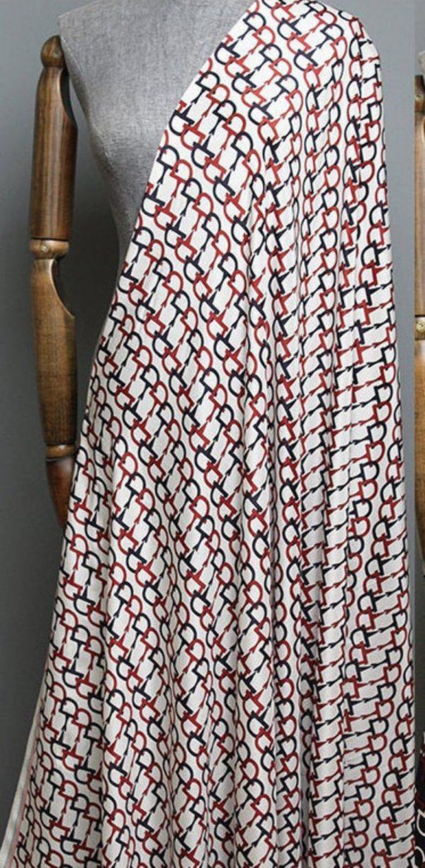 Gucci Silk Fabric colour White #1 100%Mulberry Silk Italian Fabric/Limited Quantity/Haute Couture Fabric/Fashion Week Alta Moda Fabric 3