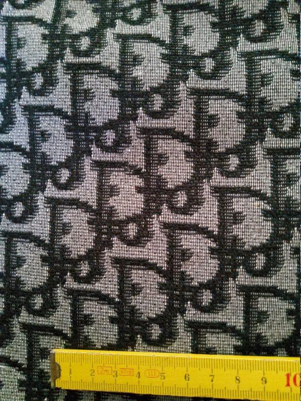 Designer Jacquard Cotton Fabric Tapestry Dior Brocade Woven fabric