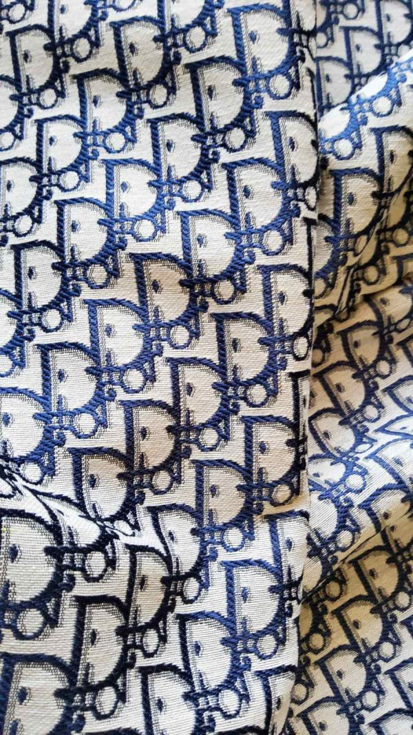 JacquarPolyester Fabric Tapestry Dior
