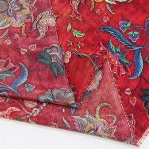 Exclusive New Collection Oscar De La Renta #6 Mulberry Silk Italian Fabric/Haute Couture Fabric 100% Silk Digital Inkjet /Fashion Fabric