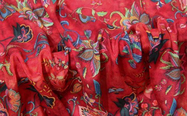Mulberry Silk Crepe De Chine