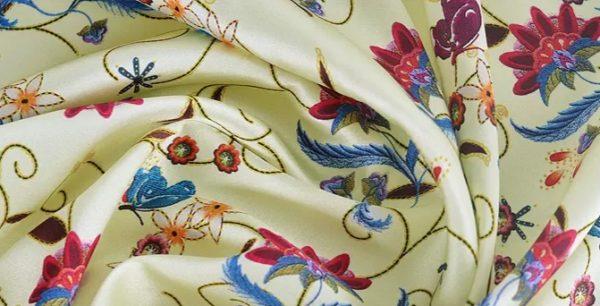 20191228 135230 New Collection! OSCAR DE LA RENTA SILK FABRIC,FASHION SHOW ITALIAN DESIGNER FABRIC 4