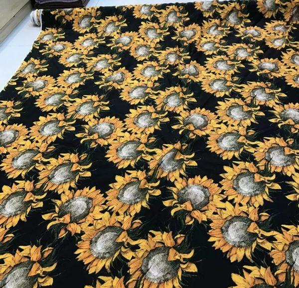 Van Gogh Silk Fabric