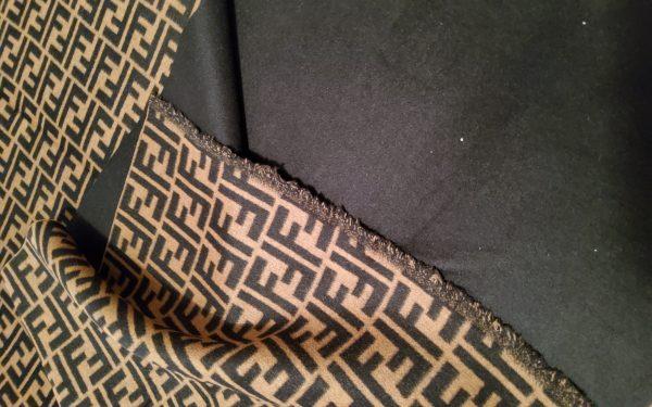 20200119 150333 Fendi Italian Designer Fabric Fendi Double Cashmere Wool width 150cm/weight 850gr Fendi fabric for coat,clothing,upholstery fendi jacquard 13