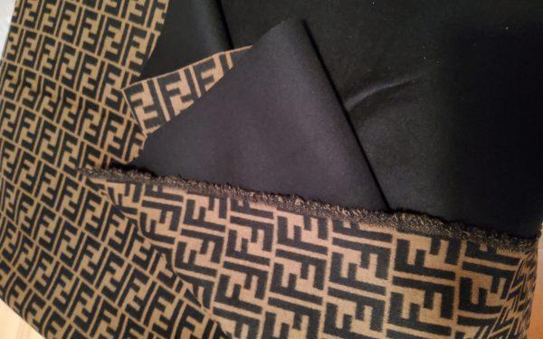 Fendi Italian Designer Fabric Fendi