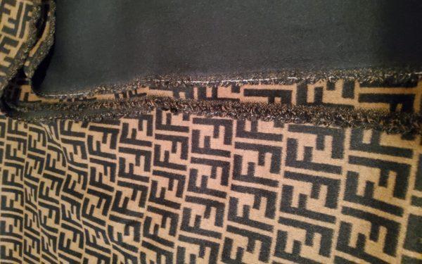 20200119 150553 Fendi Italian Designer Fabric Fendi Double Cashmere Wool width 150cm/weight 850gr Fendi fabric for coat,clothing,upholstery fendi jacquard 14