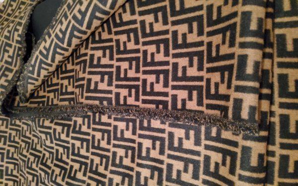 20200119 150620 Fendi Italian Designer Fabric Fendi Double Cashmere Wool width 150cm/weight 850gr Fendi fabric for coat,clothing,upholstery fendi jacquard 16