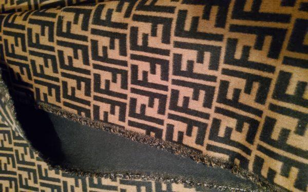 20200119 151010 Fendi Italian Designer Fabric Fendi Double Cashmere Wool width 150cm/weight 850gr Fendi fabric for coat,clothing,upholstery fendi jacquard 20