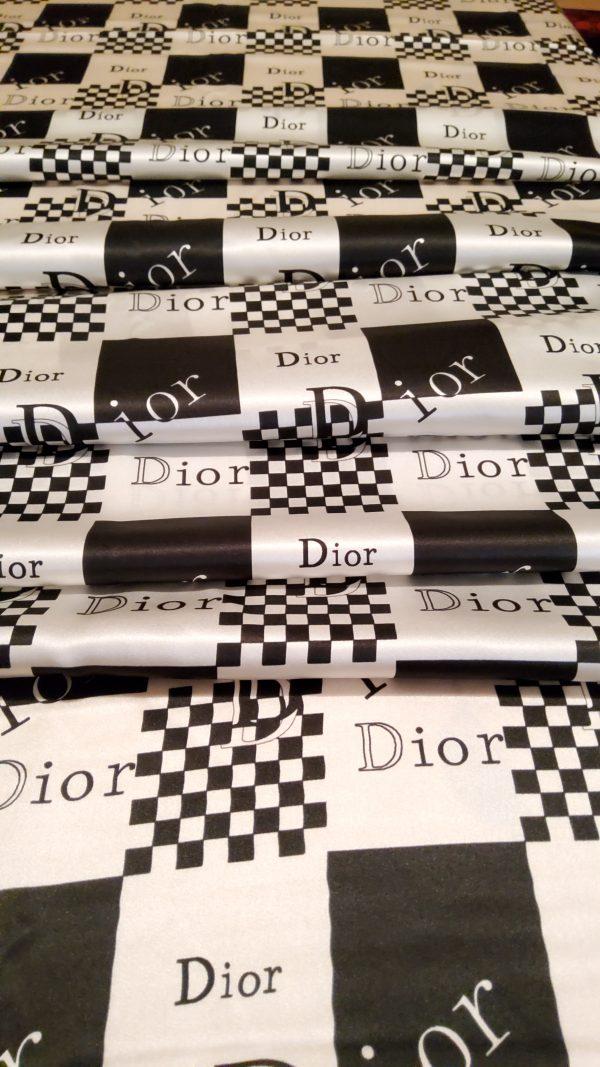 Dior Designer Mulberry Silk Double