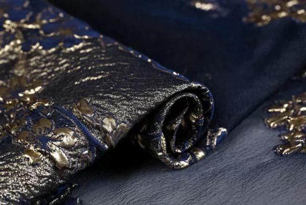 New Collection 3D Italian Designer Jacquar Fabric Nylon,Polyester,,metal thread Fabric Haute Couture Jacquard Brocade VERY RARE Limited 2