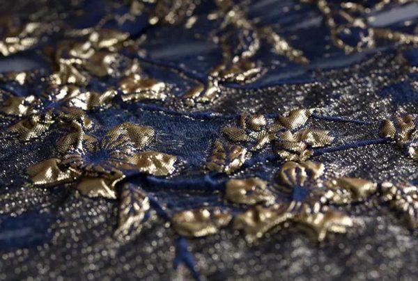 New Collection 3D Italian Designer Jacquar Fabric Nylon,Polyester,,metal thread Fabric Haute Couture Jacquard Brocade VERY RARE Limited 3
