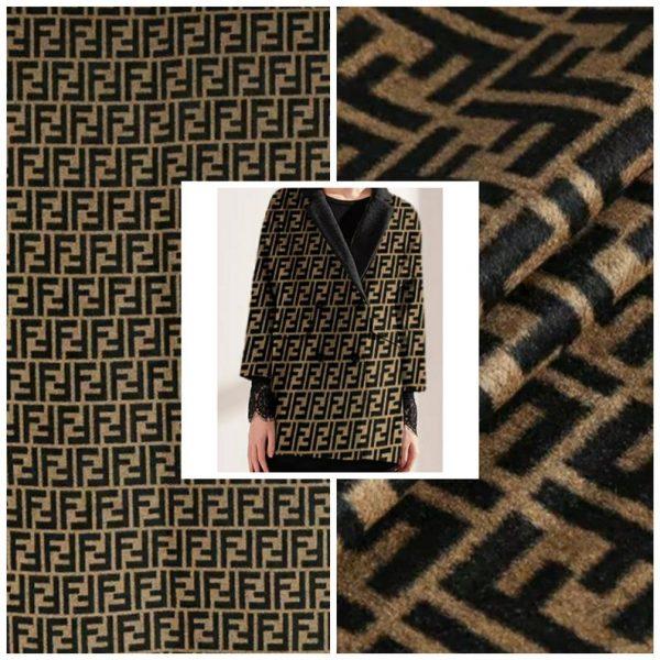 Fendi Italian Designer Fabric
