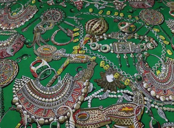 Jewellery print Fabric