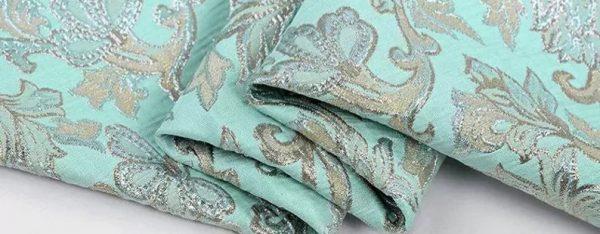 Jacquard Fabric floral pattern