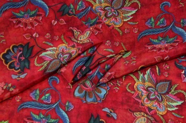 Exclusive New Collection Oscar De La Renta #6 Mulberry Silk Italian Fabric/Haute Couture Fabric 100% Silk Digital Inkjet /Fashion Fabric 3