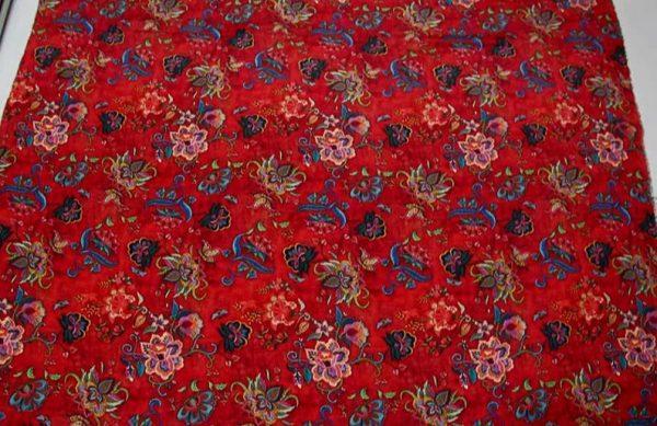 Exclusive New Collection Oscar De La Renta #6 Mulberry Silk Italian Fabric/Haute Couture Fabric 100% Silk Digital Inkjet /Fashion Fabric 6