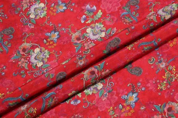 Exclusive New Collection Oscar De La Renta #8 Mulberry Silk Italian Fabric/Haute Couture Fabric 100% Silk Digital Inkjet /Fashion Fabric 1