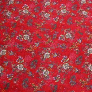 Exclusive New Collection Oscar De La Renta #8 Mulberry Silk Italian Fabric/Haute Couture Fabric 100% Silk Digital Inkjet /Fashion Fabric