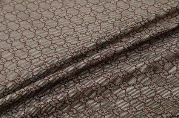 New! Gucci Jacquard Cotton Clothing Fabric,Upholstery Jacquard GG logo Print/ Various Colours Available Please check/ Italian Bag Jacquard 5