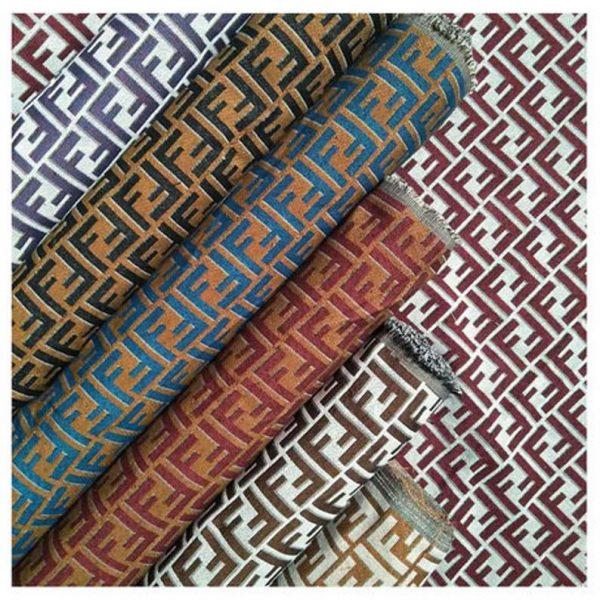 Fendi Jacquard Fabric