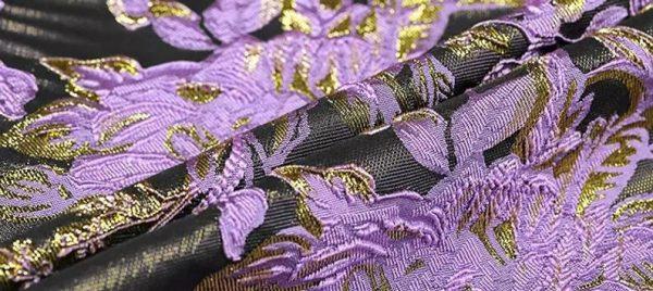 New Collection 3D Italian Designer Jacquar Fabric Nylon,Polyester,,metal thread Fabric Haute Couture Jacquard Brocade VERY RARE Limited 8