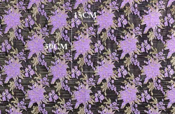New Collection 3D Italian Designer Jacquar Fabric Nylon,Polyester,,metal thread Fabric Haute Couture Jacquard Brocade VERY RARE Limited 7