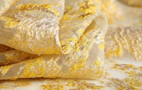 New Collection 3D Italian Satin Bright Yellow Brocade/Incredible Couture Fabric Nylon,Polyester,Satin,organza/Very Rare Brocade Fabric 7 ⋆ Rozitta Rapetti
