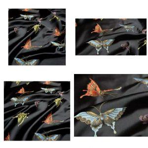 Valentino Italian Designer Fabric Silk