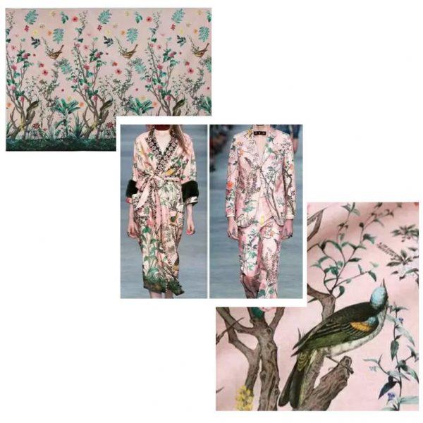 Italian Designer Fashion Week Fabric