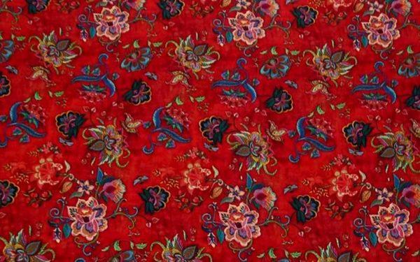 Exclusive New Collection Oscar De La Renta #6 Mulberry Silk Italian Fabric/Haute Couture Fabric 100% Silk Digital Inkjet /Fashion Fabric 7