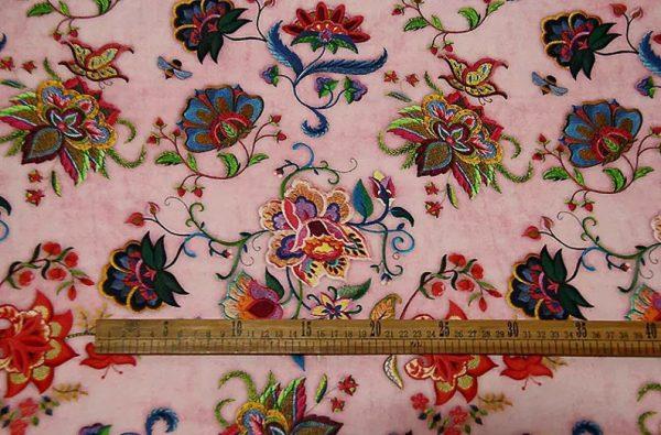 Exclusive New Collection Oscar De La Renta #7 Mulberry Silk Italian Fabric/Haute Couture Fabric 100% Silk Digital Inkjet /Fashion Fabric 6