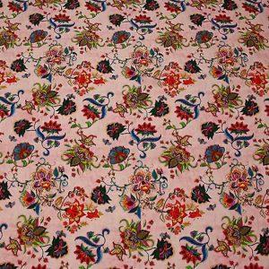 Exclusive New Collection Oscar De La Renta #7 Mulberry Silk Italian Fabric/Haute Couture Fabric 100% Silk Digital Inkjet /Fashion Fabric